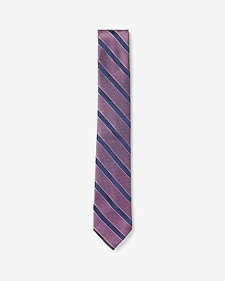 Express Mens Narrow Striped Tie