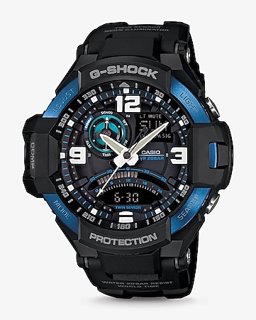 g-shock black aviation watch