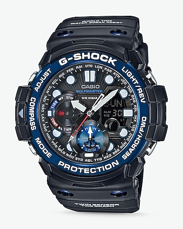 g-shock extra large blue sea watch