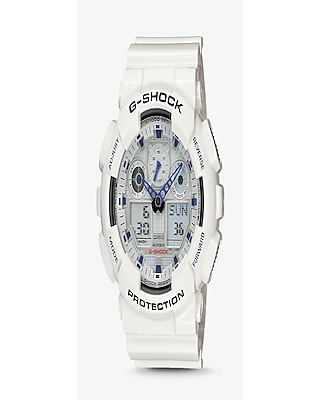 Express Mens G-Shock Extra Large White Watch