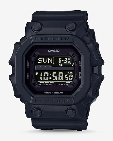 g-shock black out solar power watch