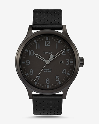 Express Mens Timex Scout Three-Hand Watch