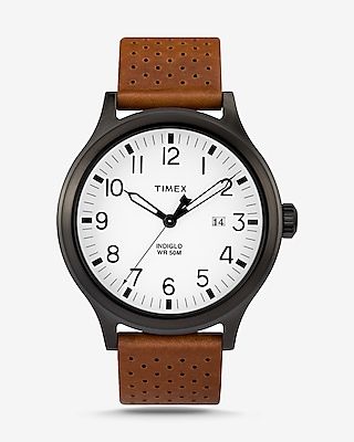Express Mens Timex Three-Hand Scout Watch