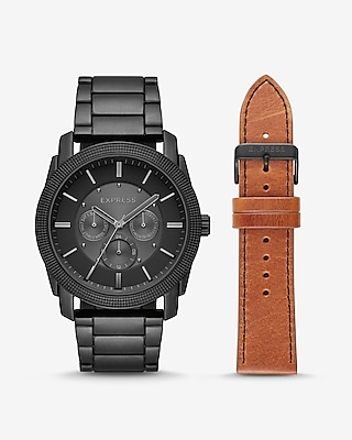 Express Mens Rivington Multi-Function Watch Giftset
