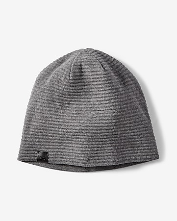 reversible ribbed beanie