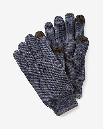 express tech touchscreen compatible winter gloves