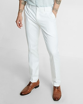 Express Mens Slim Oxford Dress Pant