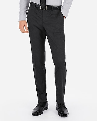 Express Mens Slim Stretch Wrinkle-Resistant Dress Pant