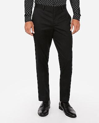 Express Slim Cotton-Blend Non-Iron Dress Pants