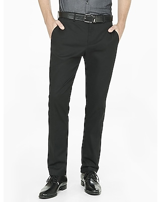 Express Mens Slim Stretch Cotton Dress Pant