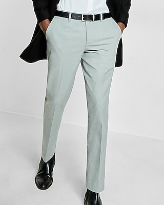 Express Mens Slim Gray Dress Pant