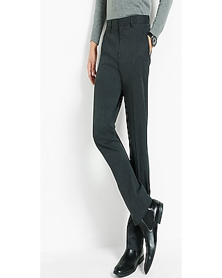 Express Mens Classic Charcoal Dress Pant