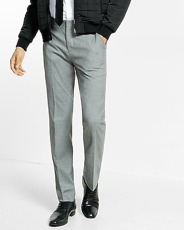 slim sharkskin photographer dress pant