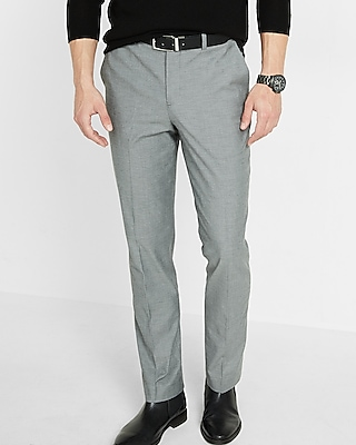 Express Mens Classic Diamond Weave Dress Pant