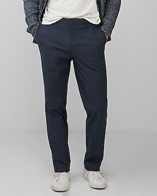 Classic Cotton Twill Dress Pant