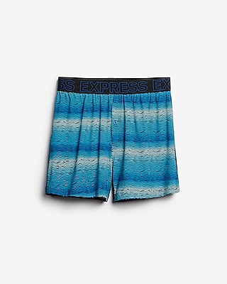 Express Mens Zigzag Moisture-Wicking Performance Boxers