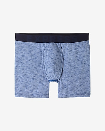space dye print boxer brief
