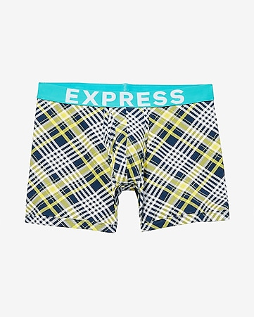 plaid boxer brief