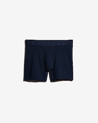 Express Mens Solid Boxer Briefs