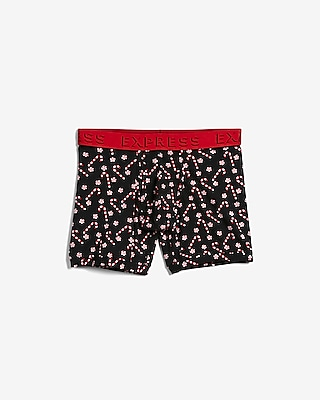 Express Mens Candy Canes Boxer Briefs