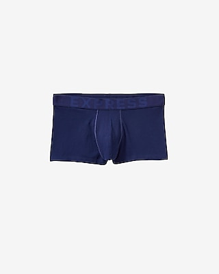 Express Mens Solid Sport Trunks