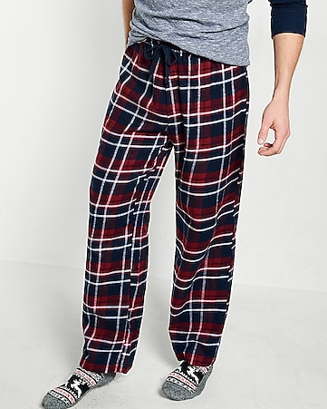 flannel lounge pant