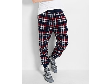 flannel jogger