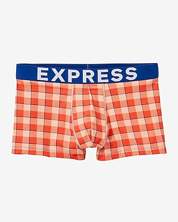 plaid sport trunk