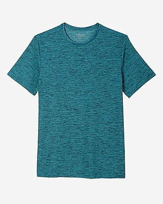 Express Mens Moisture-Wicking Performance Crew Neck Tee Blue Large 11389620