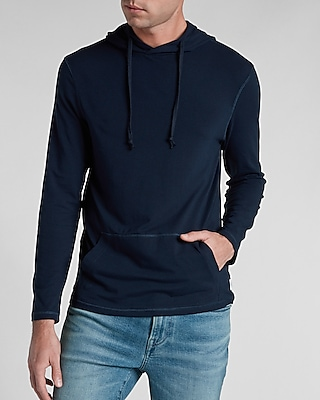 Express Mens Solid Heather Supersoft Hoodie