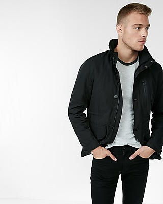 Express Mens Military Tech Jacket