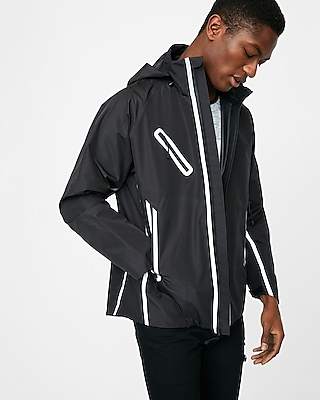 Express Mens Water-Resistant Reflector Jacket