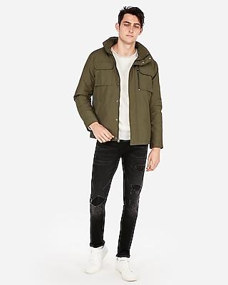 Express Mens Nylon Five Pocket Jacket