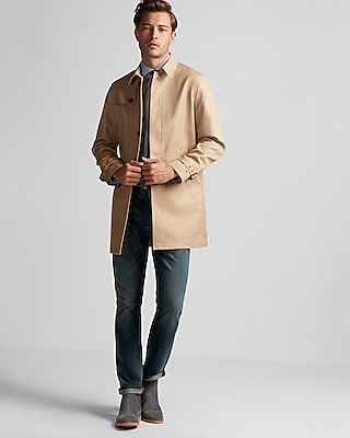 Express Mens Commuter Trench Coat