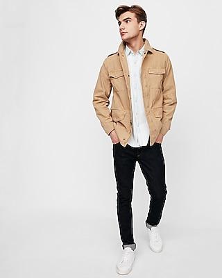 Express Mens Garment Dyed Field Jacket
