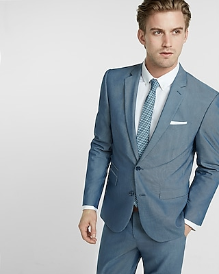 Slim Fit Photographer Suit Separates | EXPRESS