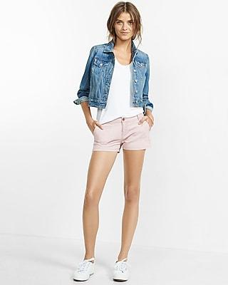 Twill Trouser Pocket Shorts