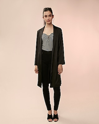 Express Womens Stretch Kimono Jacket