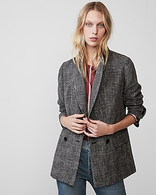 Express Womens Oversized Casual Blazer