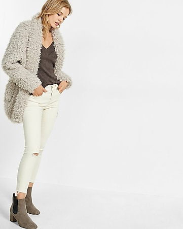 sherpa wedge jacket