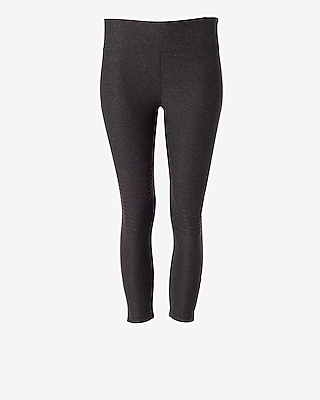 Express Womens Exp Core Cropped Moto Leggings
