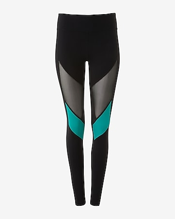 EXP core mesh inset compression legging