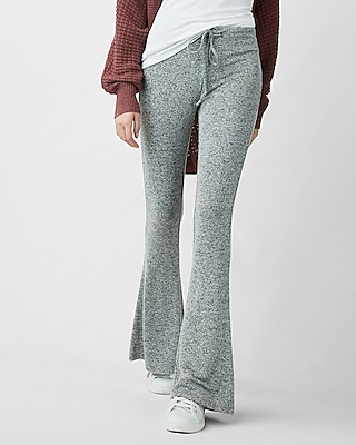 Express Womens Express One Eleven Marled Flare Lounge Pants