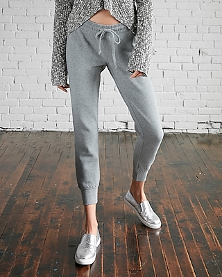 Express Womens Heathered Jogger Pant
