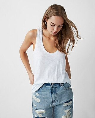 Express Womens Express One Eleven Easy Racerback Tank