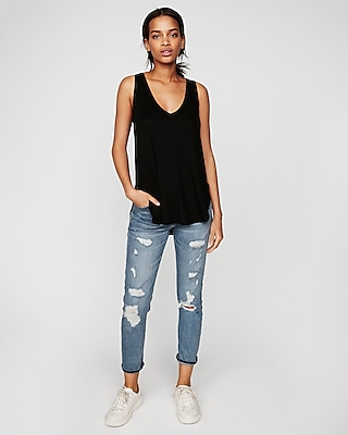 Express Womens Express One Eleven Lace-Up Back London Tank