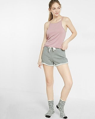 Express Womens Express One Eleven Scoop Back Cami Pink X Small