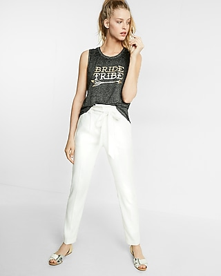 Bride Tribe Burnout Muscle Tank