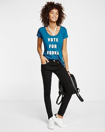 express one eleven vote vodka tee