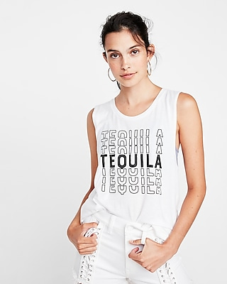 Express Womens Express One Eleven Tequila Easy Tank